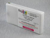 Repleo Remanufactured Epson T653300 200 ml Cartridge for the Epson Pro 4900 filled with Cave Paint Elite Enhanced Pigment ink - Vivid Magenta