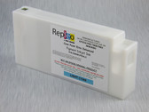 Repleo Remanufactured Epson T596500 350 ml Cartridge for the Epson Pro 7890/7900/9890/9900 filled with Cave Paint Elite Enhanced Pigment ink - Light Cyan