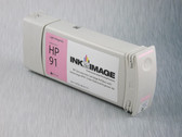Re-manufactured 775 ml Cartridge for HP Z6100 filled with i2i Absolute Match HP91 pigment ink - Light Magenta