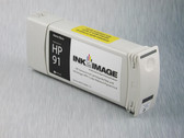 Re-manufactured 775 ml Cartridge for HP Z6100 filled with i2i Absolute Match HP91 pigment ink - Matte Black