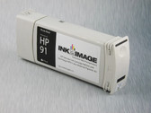 Re-manufactured 775 ml Cartridge for HP Z6100 filled with i2i Absolute Match HP91 pigment ink - Photo Black