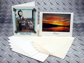 Ink2image InSight Archival Inkjet Greeting Cards, 14 mil 210 gsm, with envelopes, pack of 20