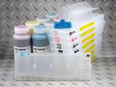 Sublim8 dye sublimation refillable cartridge starter kit for the Epson Pro 4000