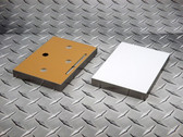 """Sublim8 mounting block for metal prints, 10.75"""" x 13.75"""" x 0.75"""", silver edge, pack of 10"""