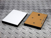 "Sublim8 mounting block for metal prints, 15.75"" x 19.75"" x 0.75"", black edge, pack of 10"
