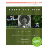 """Hahnemuhle Bamboo, 290gsm, 13"""" x 19"""", 25 sheets"""