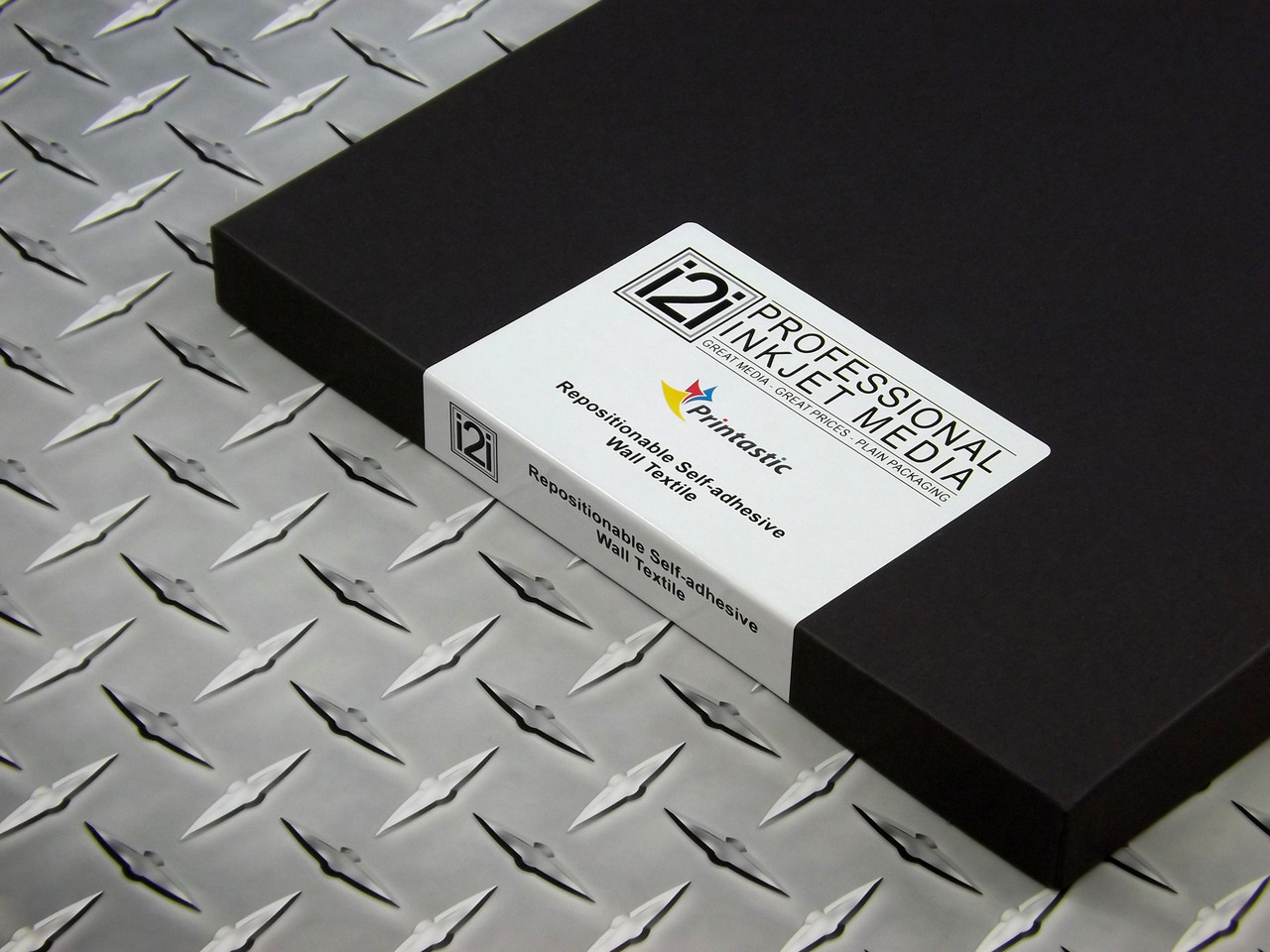 i2i Printastic Repositionable Self Adhesive Inkjet Fabric, 8 5' x 11', 20  sheets