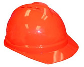 V-Gard® 500 Vented Cap Style Hard Hats - Safety Orange