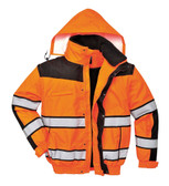Hi-Vis Classic Bomber Jacket - Orange ## UC466OBR ##