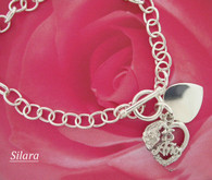 "Quinceanera Bracelet 7"" , 15 Anos"