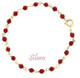 Baby Red Coral bracelet