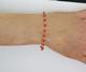 14Kt Red Coral Adult bracelet