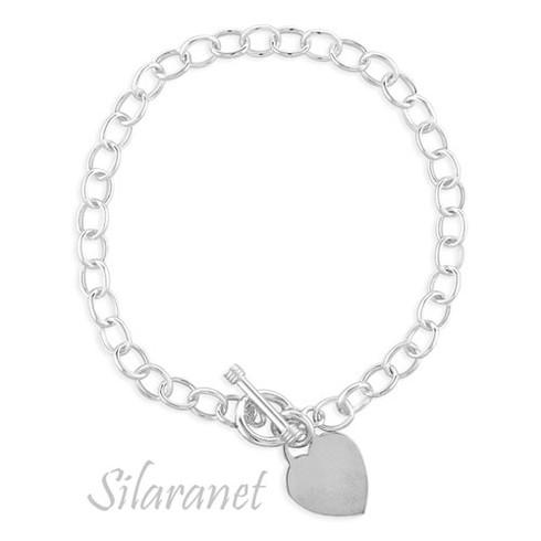 Toggle Silver Bracelet
