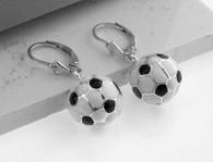 Soccer Ball Earring