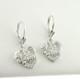 Quinceanera Earrings in Sterling Silver