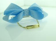 14Kt Engraved Baby ID Bracelet