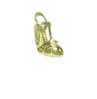 14Kt High Heel Sandal Ladies Charm Pendant