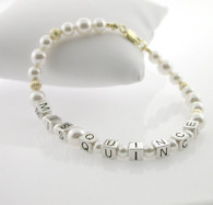 14Kt Mis Quince Bracelet
