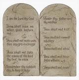 Ten Commandments (Decalogue) - Large 10 Commandments - Photo Museum Store Company