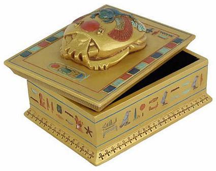 Scarab box - Photo Museum Store Company