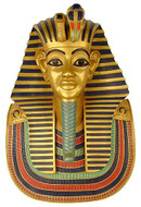 Funerary Mask of King Tutankhamun Plaque (Life size) : Egyptian Museum, Cairo, 1347-1237 B.C. - Photo Museum Store Compa