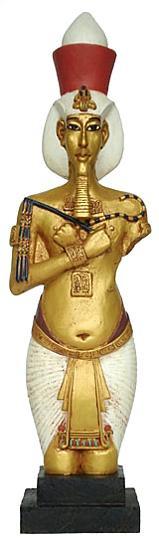 King Akhenaton : Egyptian Museum, Cairo. Dynasty 18th 1365 B.C. - Photo Museum Store Company