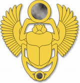 Egyptian Scarab Pin - Photo Museum Store Company