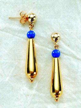 Dahshur Earrings - Egyptian, Middle Kingdom XII Dynasty - Photo Museum Store Company