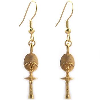Akuaba Doll Earrings - Photo Museum Store Company