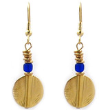 Akan Disc Earrings - African - Photo Museum Store Company