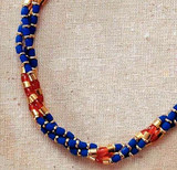 Thebes Triple Strand Necklace - Egyptian, c. 960 B.C. - Photo Museum Store Company