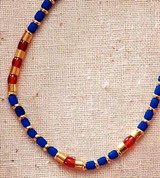 Thebes Single Strand Necklace - Egyptian, c. 960 B.C. - Photo Museum Store Company