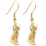 Cat Amulet Earrings - Egyptian, 940 - 730 B.C. - Photo Museum Store Company