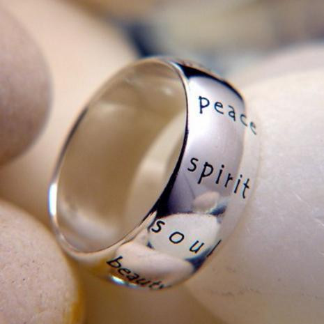 Imagination Ring (Peace, Spirit, Soul, Beauty) - Photo Museum Store Company
