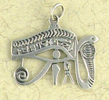 Eye of Hours Pendant on Cord : Egyptian Collection - Photo Museum Store Company