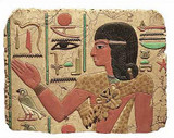 Egyptian Priest Relief, Temple of Abydos, Egypt - 1317B.C. - Photo Museum Store Company