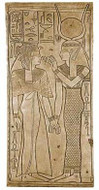 Isis and Queen Nefertari - Valley of the Queens, Luxor,  1270BC - Photo Museum Store Company