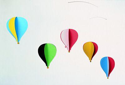 Balloon Mobile 5 - Artistic Balloons Mobile, Denmark - Photo Museum Store Company