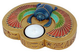 Egyptian Scarab candle holder : - Photo Museum Store Company