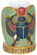 Scarab Candle Holder : - Photo Museum Store Company