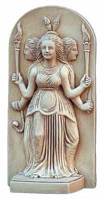 Hecate (Greek Triple Goddess) - Metropolitian Museum of Art, New York - Photo Museum Store Company
