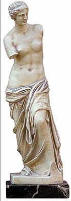 Aphrodite of Melos, Venus de Melos - Venus di Milo- Louvre Museum, Paris,  200BC - Photo Museum Store Company