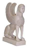 Greek Sphinx - Delphi Museum, Greece,  460 B.C. - Photo Museum Store Company