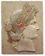 Demeter Relief - Versailles Municipal Library, France. 18th century - Photo Museum Store Company