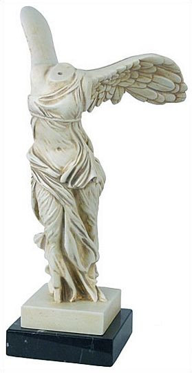 Small Nike (Winged Victory) : The Louvre Museum, Paris, 190 B.C. - Photo Museum Store Company