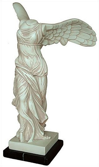 Large Nike (Winged Victory) : The Louvre Museum, Paris, 190 B.C. - Photo Museum Store Company