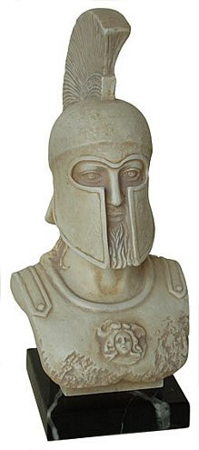 Bust of Leonidas - Archaeological Museum, Sparta, 5th century B.C. - Photo Museum Store Company
