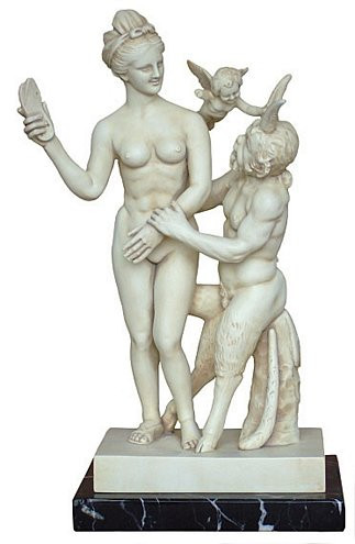 Aphrodite and Pan - National Museum, Athens, Greece, 100 B.C. - Photo Museum Store Company