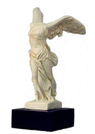 Nike - Winged Victory of Greek Isle of Samothrace (200 BCE) - Louvre Museum, Paris, France - Photo Museum Store Company