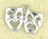 Drama Faces Pendant on Cord : Entertainment & Entertainer - Photo Museum Store Company